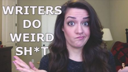 writers are weird -- jenna moreci -- writing tips